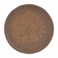 1884 INDIAN HEAD ONE CENT Z01