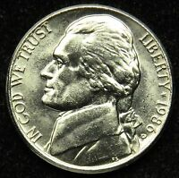 1986 P UNCIRCULATED JEFFERSON NICKEL BU B04
