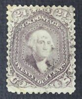 CKSTAMPS: US STAMPS COLLECTION SCOTT70 24C WASHINGTON USED CV$300
