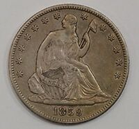 1859 O LIBERTY SEATED HALF DOLLAR G30