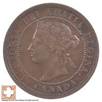 1888 CANADA ONE CENT QUEEN VICTORIA 5351