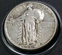 1930 S STANDING LIBERTY QUARTER SHARP   FREE FAST SHIPPING