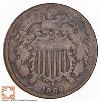 1864 TWO CENT PIECE 1741