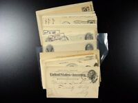 UNITED STATES GROUP OF 65 EARLY POSTAL CARDS  G315