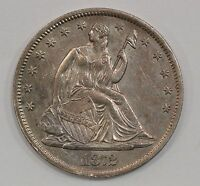 1872 S LIBERTY SEATED HALF DOLLAR G21