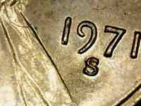 1971 S/S RPM 2 LINCOLN CENT CHOICE UNCIRCULATED