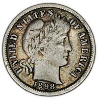UNITED STATES COIN DIME 1898.