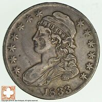 1833 CAPPED BUSTED HALF DOLLAR 2030