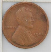 1922 D LINCOLN WHEAT EARS CENT Z54