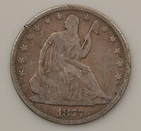 1877 P SEATED LIBERTY SILVER HALF DOLLAR G96