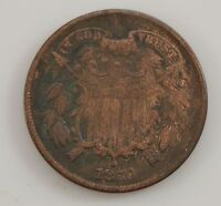 1870 TWO-CENT PIECE G35