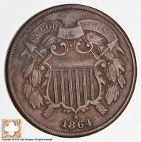 1864 TWO CENT PIECE 1688