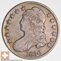 1830 CAPPED BUST HALF DOLLAR 0.112 R4 2795