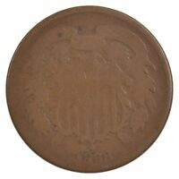 1868 TWO-CENT PIECE J82