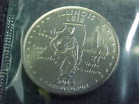 2003  D ILLINOIS STATE QUARTER FROM MINT SET    BU