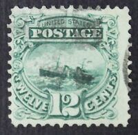 CKSTAMPS: US STAMPS COLLECTION SCOTT117 12C PICTORIAL USED CV$125