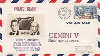 1965 GEMINI 5 LAUNCH CC 8/21,  COVER