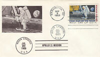 1969 APOLLO 11 C76 FDC;  COVER