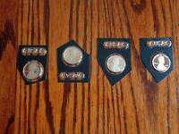 2013 S 2014 S  2015 S  2016 S PROOF  LINCOLN UNION SHIELD PENNY/ CENT