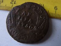 DENGA 1730 OLD RUSSIAN COIN