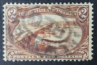 CKSTAMPS:US STAMPS COLLECTION SCOTT293 $2 USED TINY THIN CV$1100