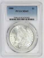 1880 MORGAN SILVER DOLLAR MS 65 PCGS 9382