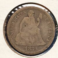 1875 10C LIBERTY SEATED DIME [AUTO. COMBINED SHIPPING]28711