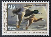 CKSTAMPS: US FEDERAL DUCK STAMPS COLLECTION SCOTTRW66 $15 MINT NH OG