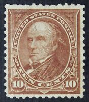 CKSTAMPS: US STAMPS COLLECTION SCOTT282C 10C WEBSTER MINT H OG THIN CV$175