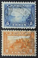 CKSTAMPS: US STAMPS COLLECTION SCOTT403 404 2 USED CV$95