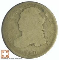1830 CAPPED BUST DIME XB49