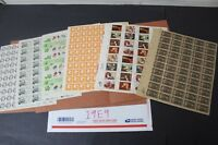 CKSTAMPS :  LOVELY MINT NH US SHEETS STAMPS COLLECTION  FACE VALUE $58.00