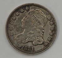 1831 CAPPED BUST SILVER DIME G79