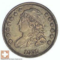 1831 CAPPED BUST DIME XB77