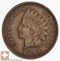 1898 INDIAN HEAD CENT 619
