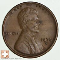 1930 S LINCOLN WHEAT CENT 2229