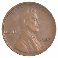 1932 D LINCOLN WHEAT EARS CENT J01