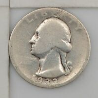 1932 D WASHINGTON SILVER QUARTER DOLLAR Z89