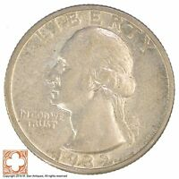 1932 S WASHINGTON QUARTER 90 SILVER YB08