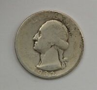 1932 D WASHINGTON SILVER QUARTER DOLLAR Q55