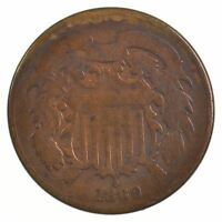 1869 TWO-CENT PIECE J93