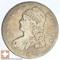 1833 CAPPED BUSTED HALF DOLLAR XB11