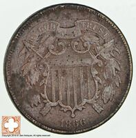 1866 TWO CENT PIECE 1854
