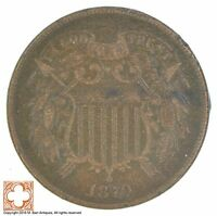 1870 TWO CENT PIECE XB70