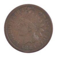 1884 INDIAN HEAD ONE CENT Z00
