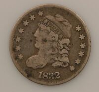 1832 CAPPED BUST SILVER HALF DIME G30