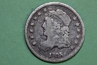 ONE 1835 CAPPED BUST HALF DIME THAT GRADES GOOD STOCK : BHDX239