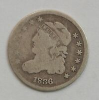 1836 CAPPED BUST HALF DIME G43