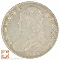 1819 CAPPED BUSTED HALF DOLLAR XB83