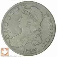 1825 CAPPED BUSTED HALF DOLLAR 6213